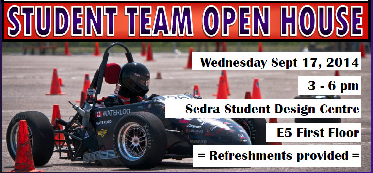 Student Team Open House