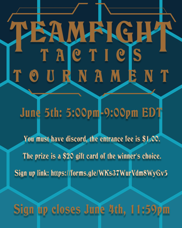 EngSoc Teamfight Tactics Tournament