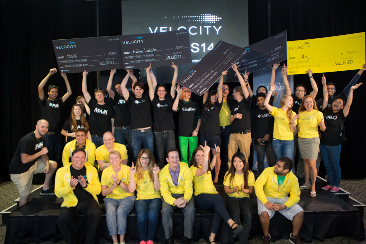 Velocity Fund Finals July 2014 winners