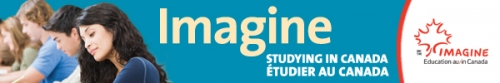 Imagine Education in Canada web banner