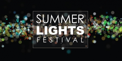 Summer Lights Festival poster
