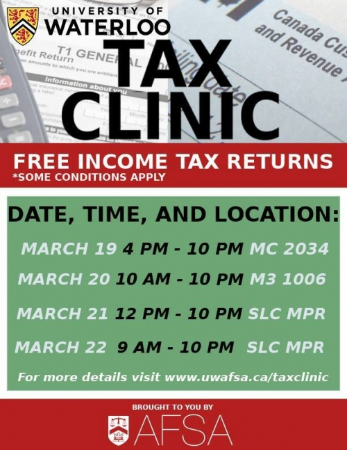 Tax Clinic Poster