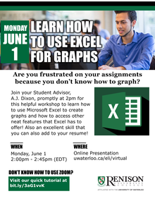 Using Microsoft Excel To Create Graphs