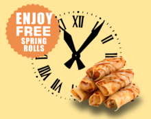 Time management and spring rolls workshop