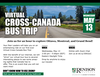 Virtual Cross-Canada Bus Trip
