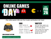 this is a flyer for Games Day, run by the ELI program at Renison.