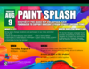 Paint Splash event poster