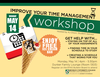 Time management and ice cream workshop poster