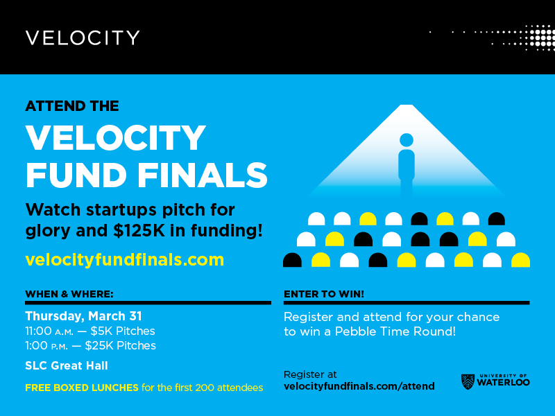 Velocity Final fund Pitch Poster