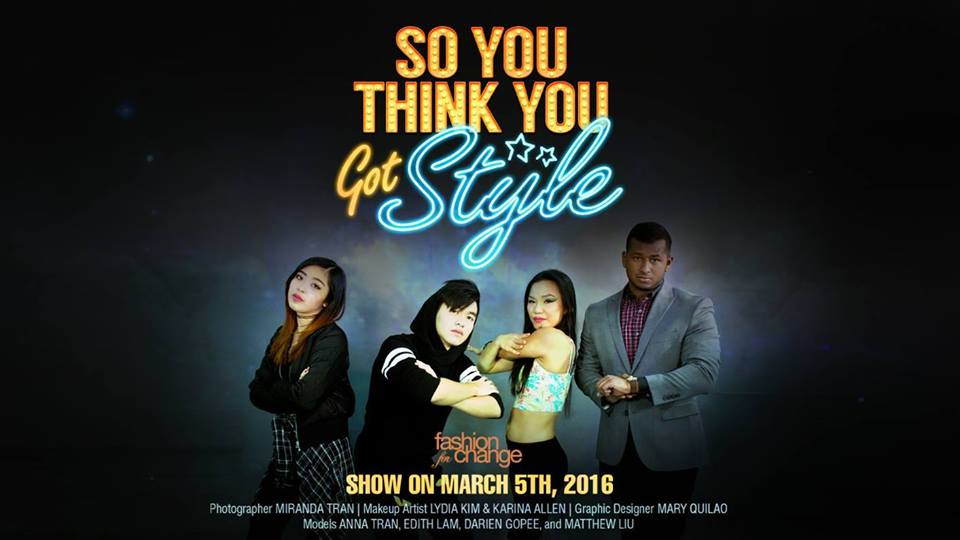 So You Think You Got Style Poster