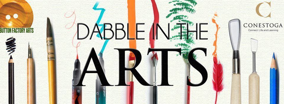 Dabble in the arts poster