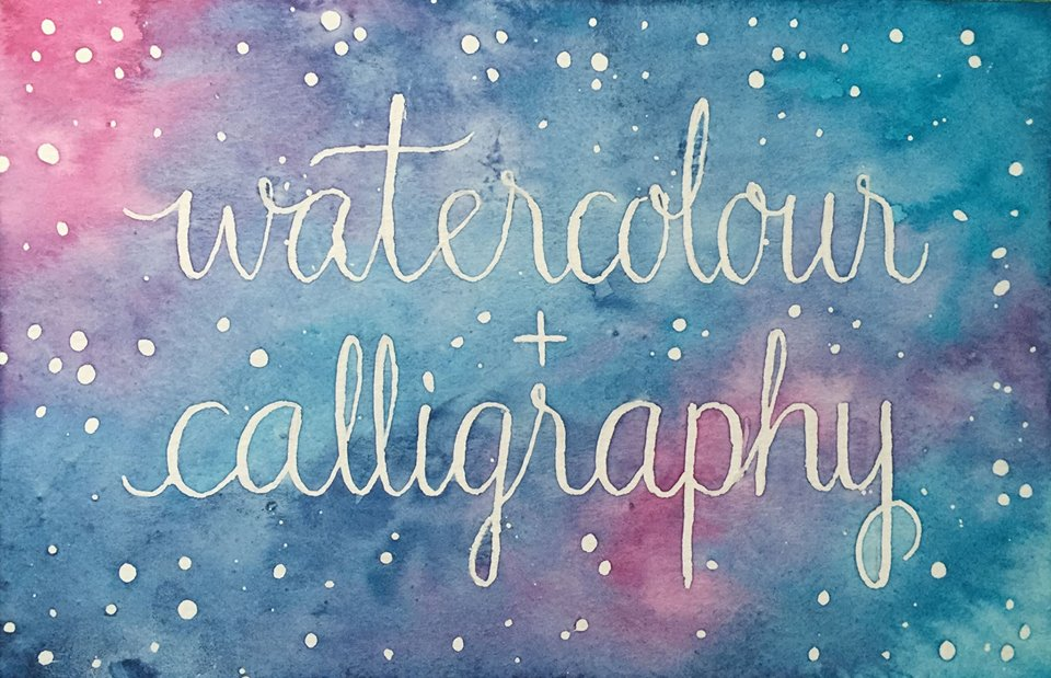 Watercolour and Calligraphy Workshop