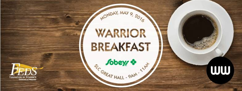 Warrior Breakfast poster