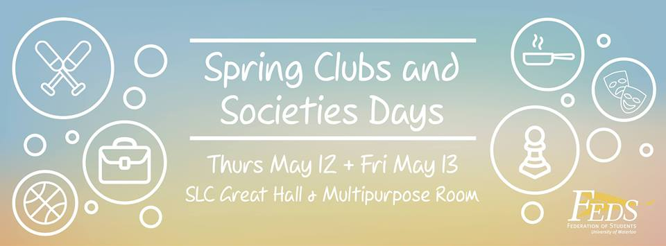 Clubs day poster