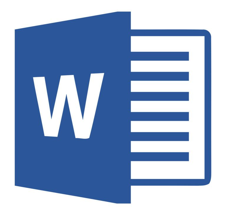 The logo for Microsoft Word