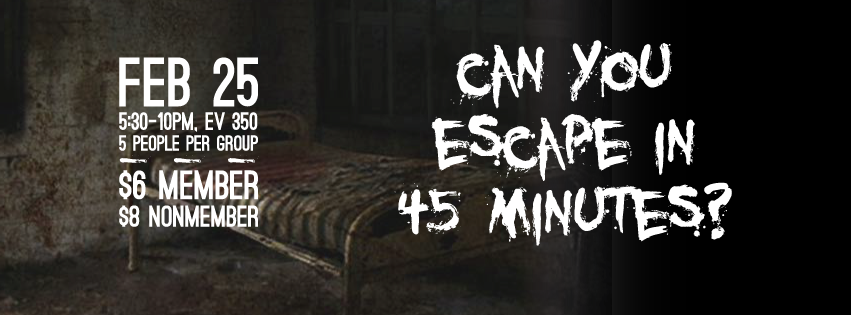 Can you escape poster