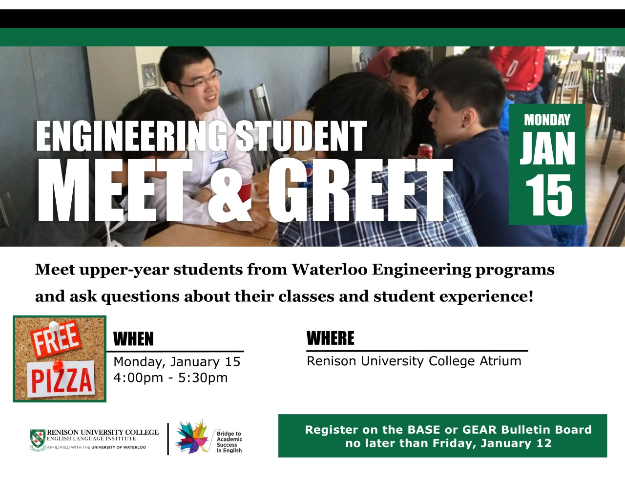 Engineering meet and greet