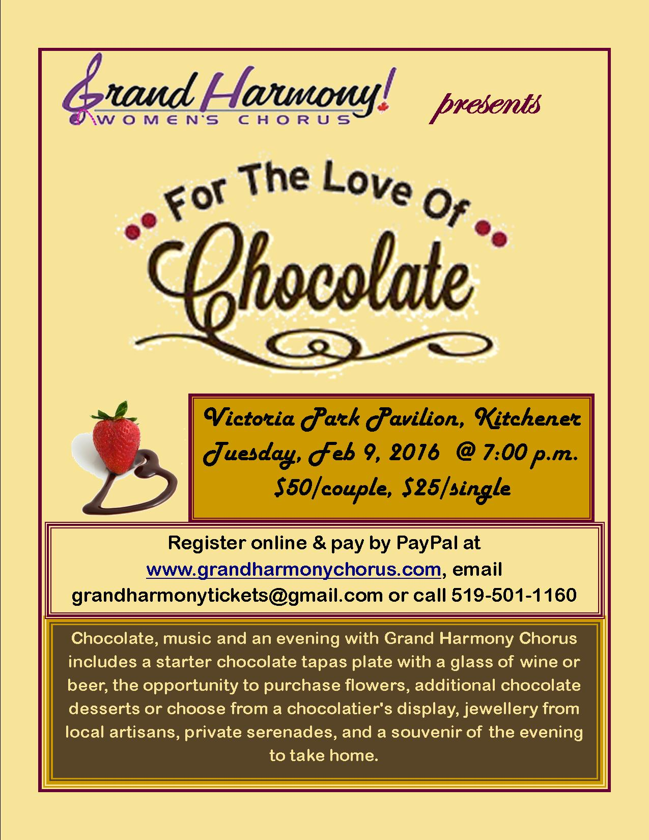 For the Love of Chocolate poster