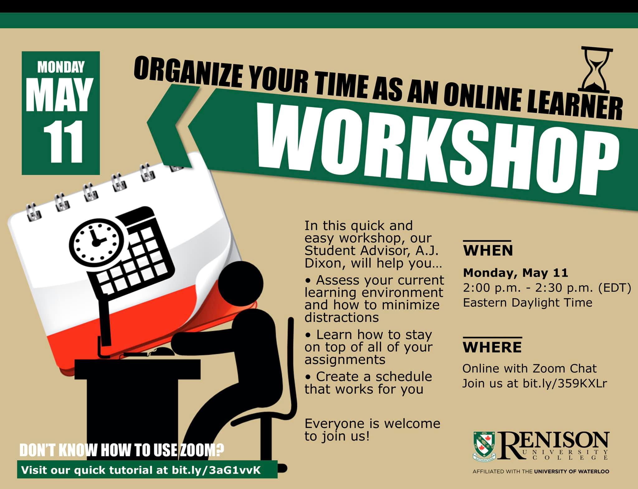 Organize Your Time Workshop