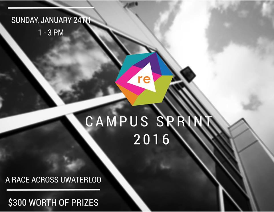 Campus Sprint Poster