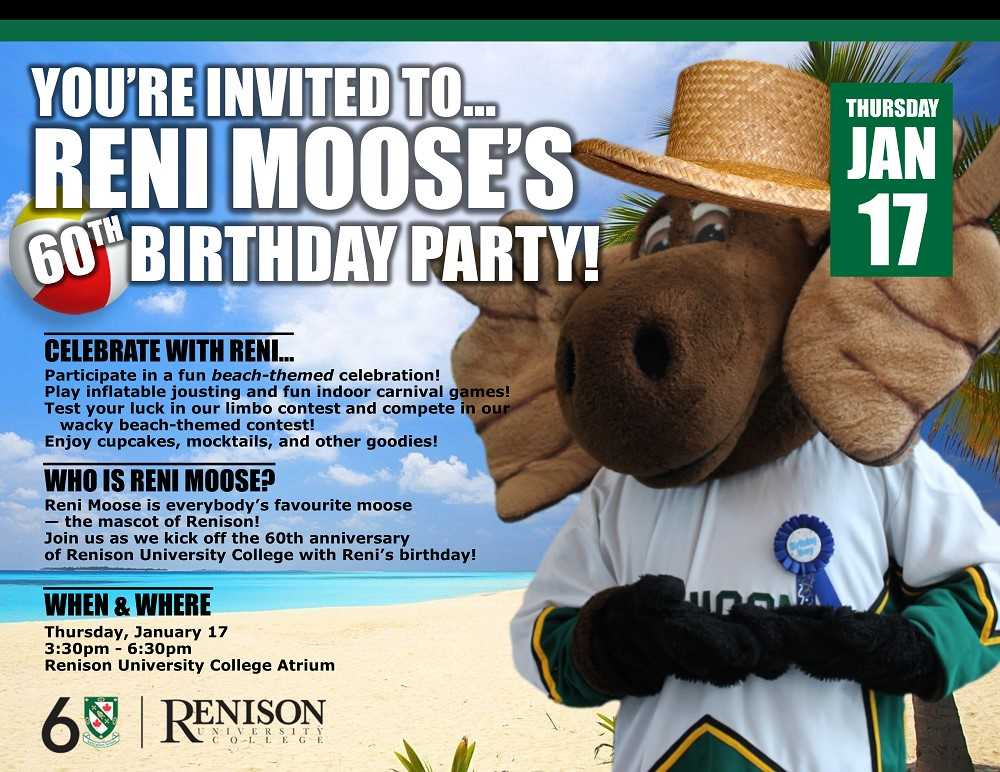 Reni Moose's Birthday Party