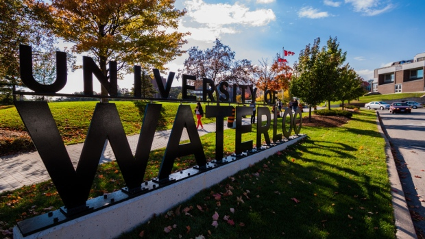 University of Waterloo signs