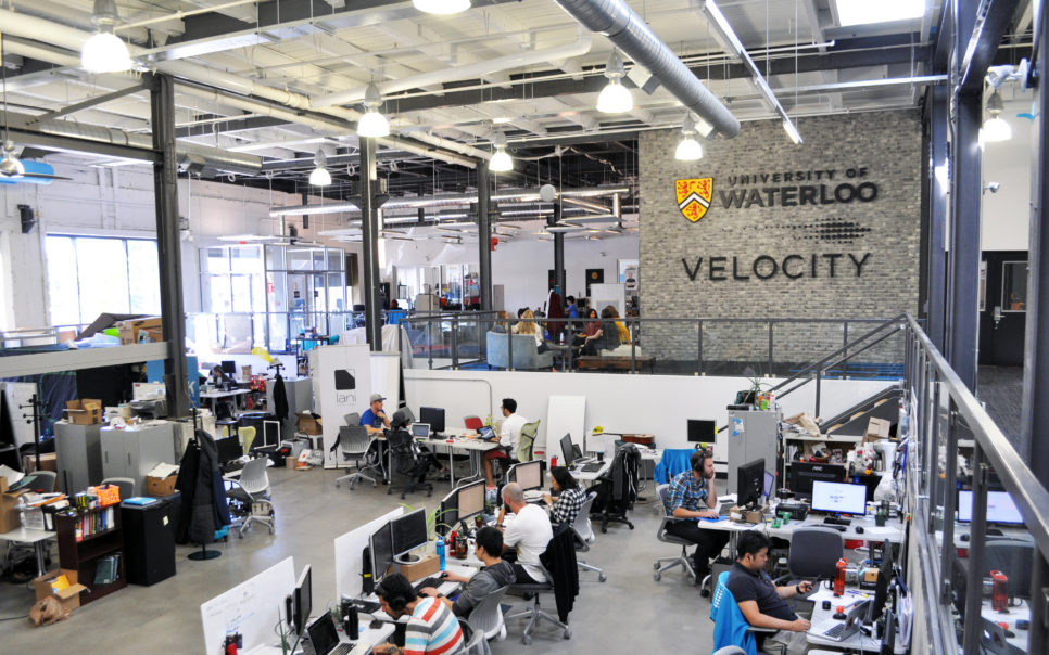 The inside of Velocity by the University of Waterloo