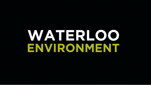 Waterloo Environment banner