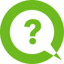 FAQ icon (question mark in dialogue circle)