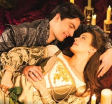 Daniel Briere and Sara Topham in Stratford Festival Romeo and Juliet 2013