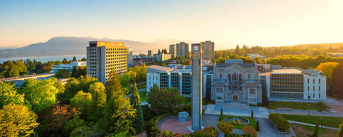 Photo of UBC Vancouver campus.