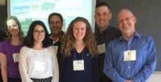 Grad students and faculty at Congress 2018.