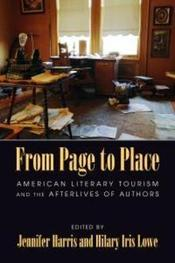 Book cover for Page to Place.