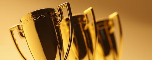 Awards banner.