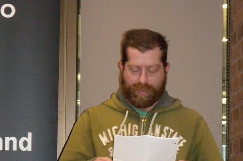 Photo of Michael Domonchuk.