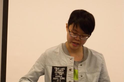 Xin Niu Zhang reads.