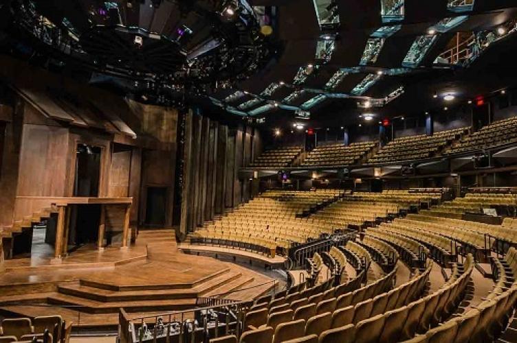 Stratford Theatre stage.