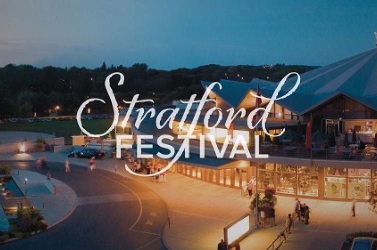 Stratford festival banner.