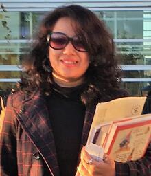 Photo of Kasturi Ghosh.