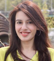 Photo of Rafia Qaisar.