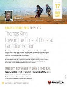 Thomas King event poster
