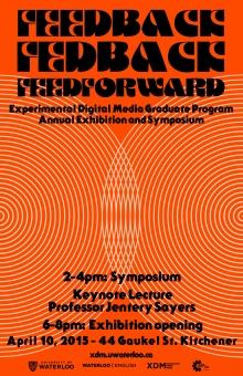 Poster for feedback, fedback, feedforward symposium.