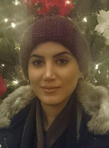 Photo of Zahra Jafari.