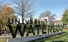 Photo of University of Waterloo sign