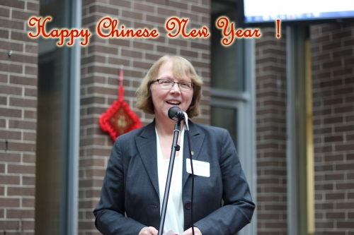 """Dean of Environment. """"Happy Chinese New Year!"""""""