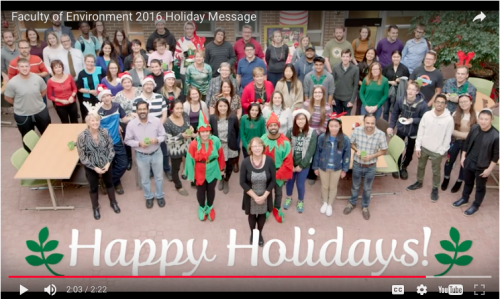 2016 Holidays Greetings