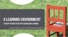 A learning EnvironmentStudent Perspectives on Teaching and Learning
