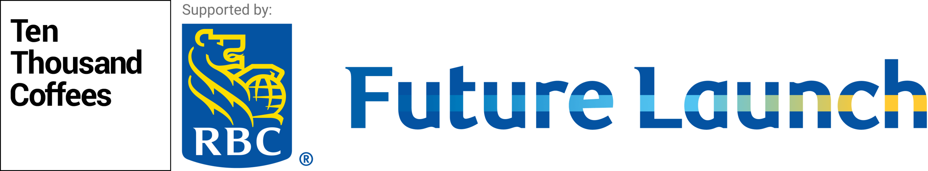 RBC Future Launch + 10KC logo lockup