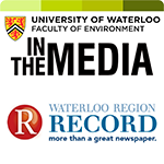 waterloo record in the media logo