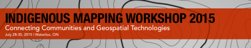 Indigenous Mapping Workshop Banner